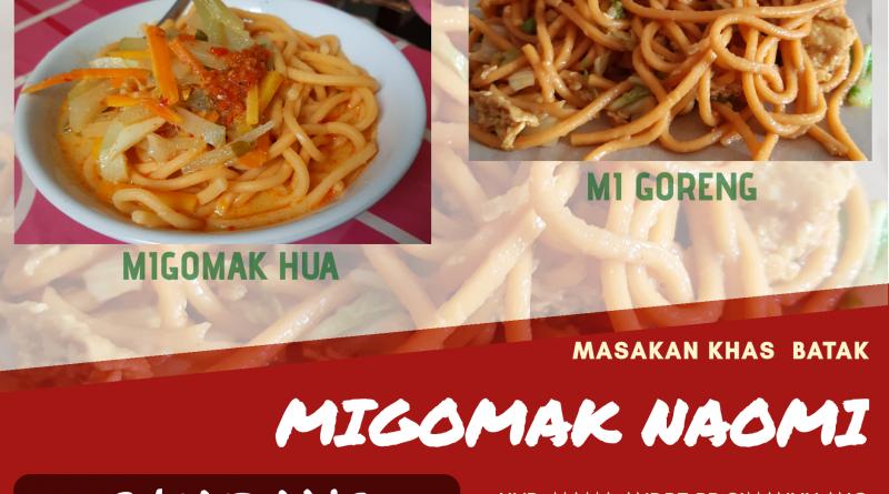 Migomak, makanan legendaris Orang Batak.