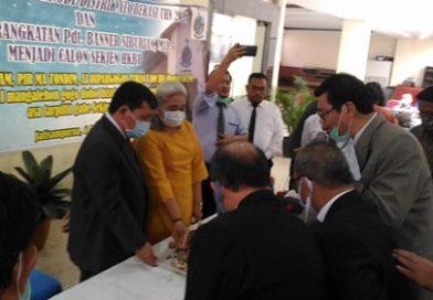 Pendeta Banner Siburian Resmi Diberangkatkan Distrik XIX Bekasi Calon Sekjen HKBP